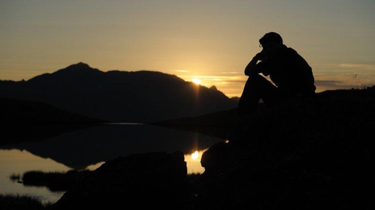 Sonnenaufgang bei den Torseen im Zillertal, © Hermann Muigg