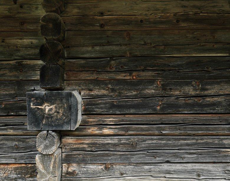 Die Almen wurden meist in einfacher Blockbauweise errichtet – ohne senkrechte, tragende Bauelemente.