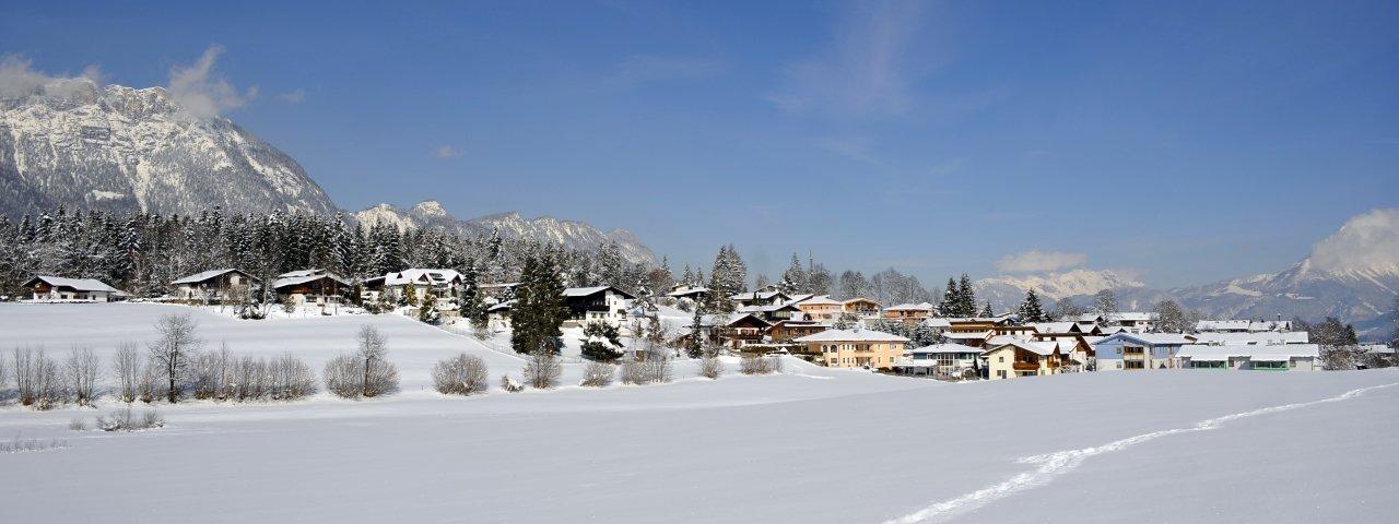 Angerberg im Winter, © Kitzbüheler Alpen/Hannes Dabernig