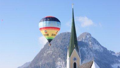 Kössen zum Alpine Ballooning Ballonfahrerwoche