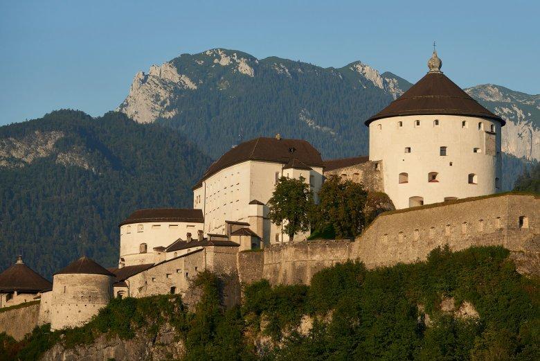 1205 wurde die Festung Kufstein zum ersten Mal urkundlich erwähnt. , © Tirol Werbung / Marshall George
