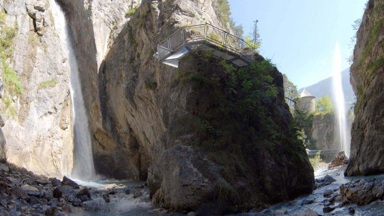 Lötzer Wasserfall im Zammer Lochputz, © Archiv TVB TirolWest, Erich Auer