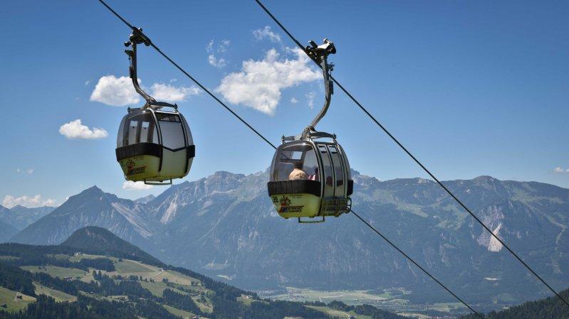 Wiedersbergerhornbahn in Alpbach, © Grießenböck