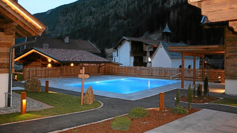 Wellness-Hüttendorf im Pitztal, © Hotel Wiese
