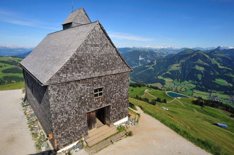 Die Kapelle auf der Hohen Salve. (c) Kitzbüheler Alpen Marketing, Hannes Dabernig