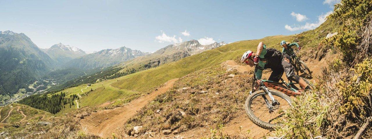 Die Harbe Line in der Bike Republic Sölden, © Ötztal Tourismus