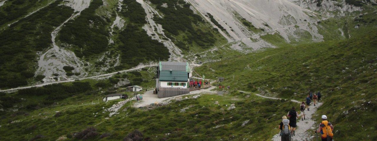 Pfeishütte im südlichen Karwendel, © Tirol Werbung/Holger Gassler