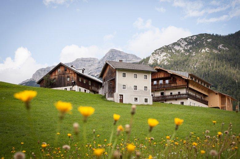 Einfach. Zusammen. Sein. Der 400 Jahre alte Mesnerhof in Steinberg. , © Mesnerhof