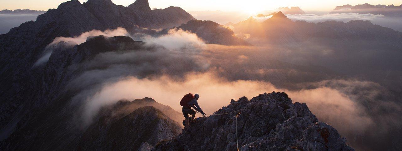 Klettersteig Innsbruck, © Tirol Werbung / Frank Stolle