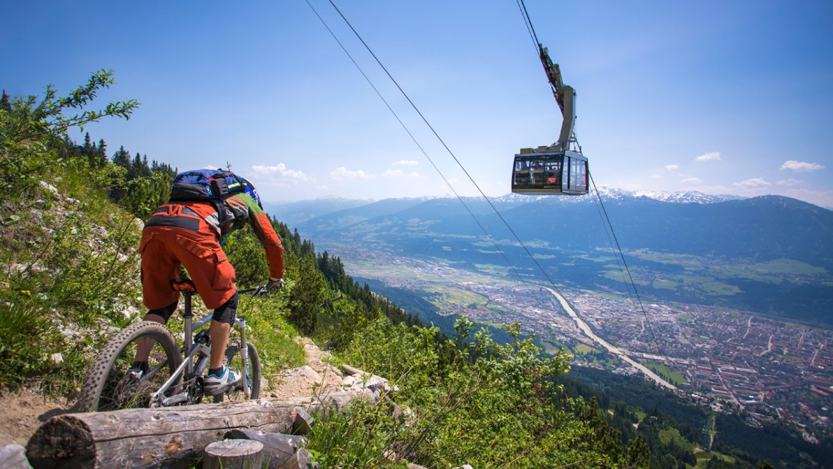 Nordkette Singletrail, © TVB Innsbruck / Tommy Bause