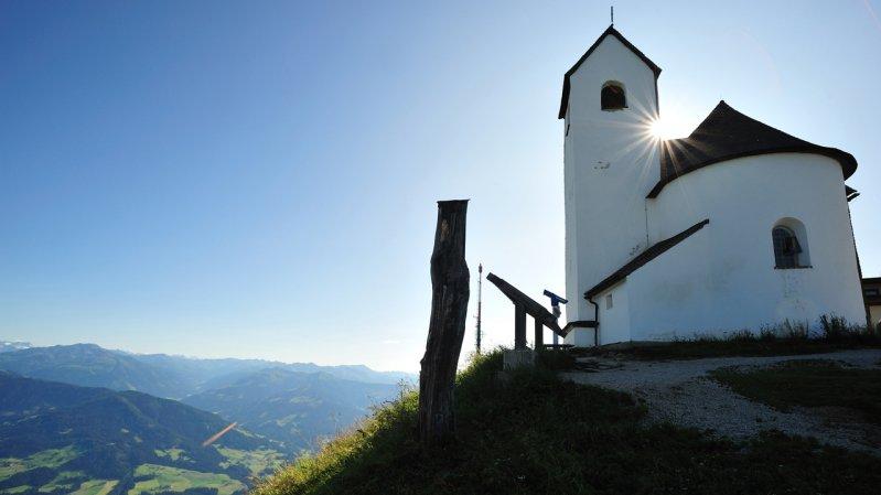 Wallfahrtskirche auf der Hohen Salve, © Bergbahnen Hohe Salve
