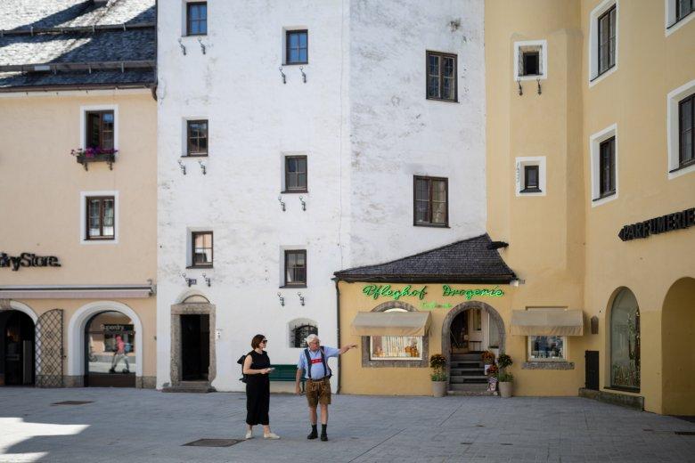 Eine geschichtsträchtige Ecke: Das Jochberger Tor und der Pfleghof. , © Maria Kirchner