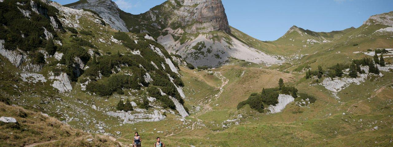 Wandern im Rofangebirge, © Tirol Werbung/Jens Schwarz
