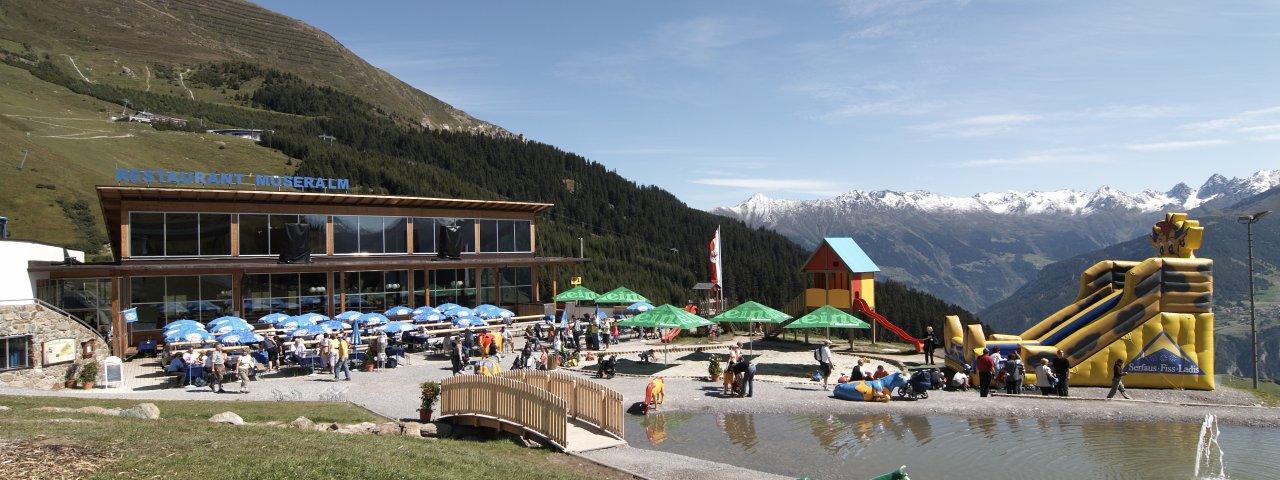 Bergrestaurant Möseralm, © Fisser Bergbahnen