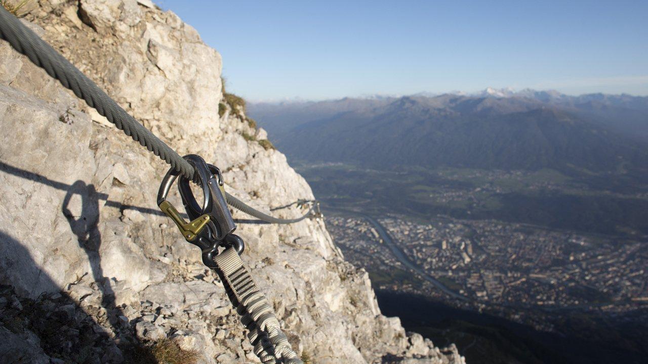 Innsbrucker Klettersteig , © Tirol Werbung / Frank Stolle