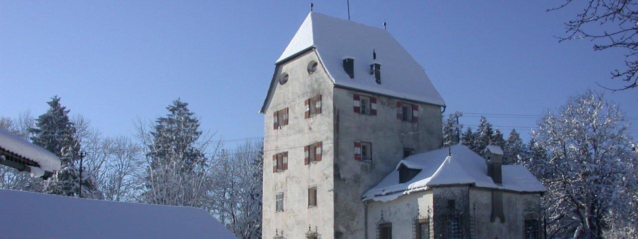 Schloss Schönwörth in Langkampfen im Winter, © Ferienland Kufstein