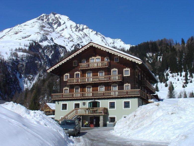 Das Landhaus Taurer in Kals am Großglockner.