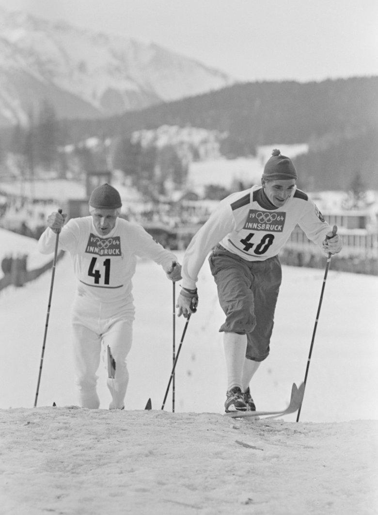 1964 fanden in Seefeld die Langlaufbewerbe der Olympischen Winterspiele statt. Foto: Schaadfoto/Frischauf