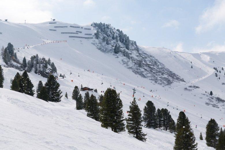 Skipiste in Mayrhofen.