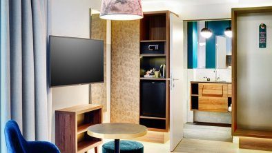 Stage 12 Doppelzimmer Sitzbereich, © www.guentheregger.at