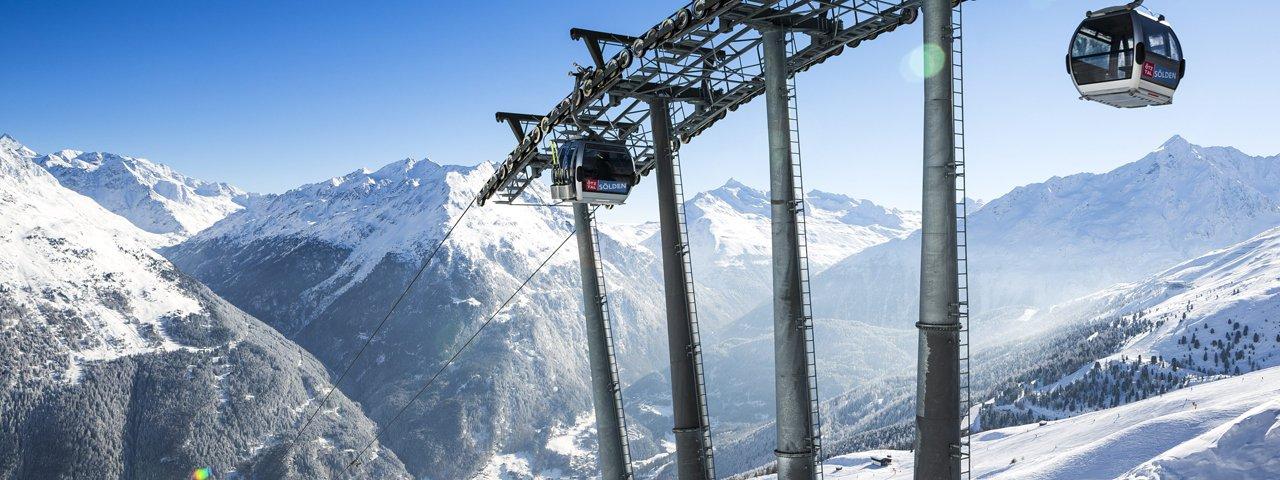 Gletscherskigebiet Sölden, © Ötztal Tourismus/Rudi Wyhlidal