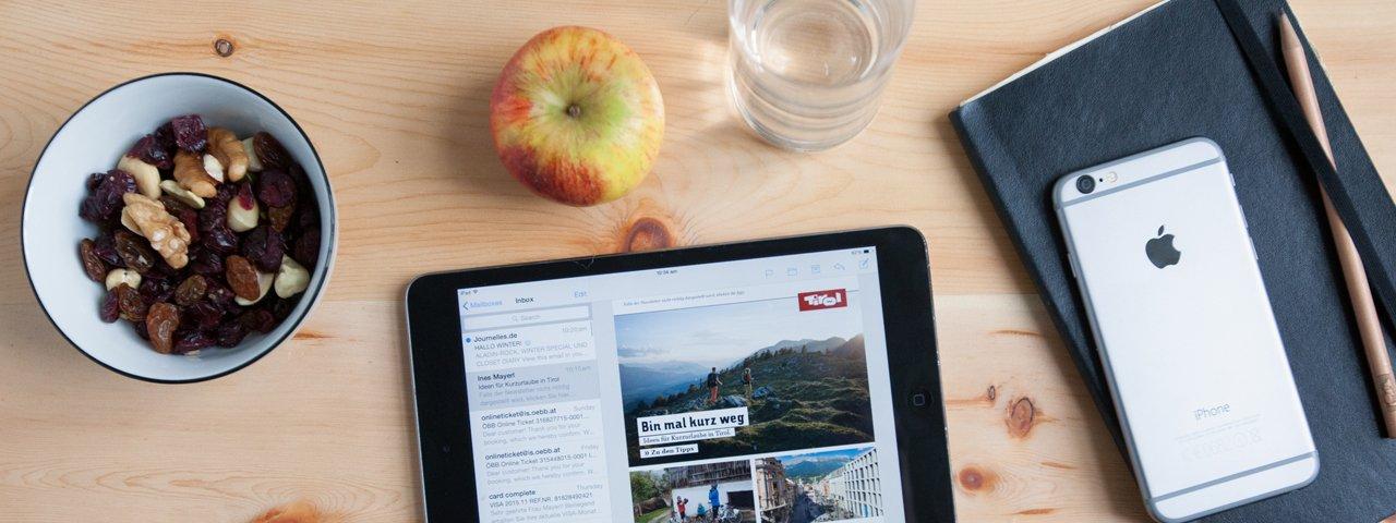 Abonnieren Sie den Tirol Newsletter, © Tirol Werbung