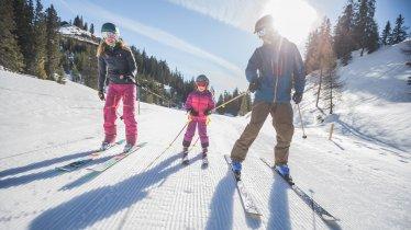 Skigebiet der Wettersteinbahnen Ehrwald, © Tiroler Zugspitz Arena/C. Jorda
