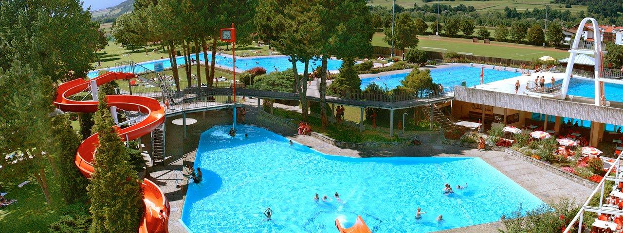 Alpenschwimmbad Wattens, © Ferienregion Hall-Wattens