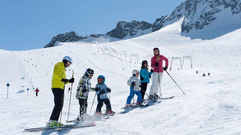 Stubaier Gletscher, © Tirol Werbung/Laurin Moser