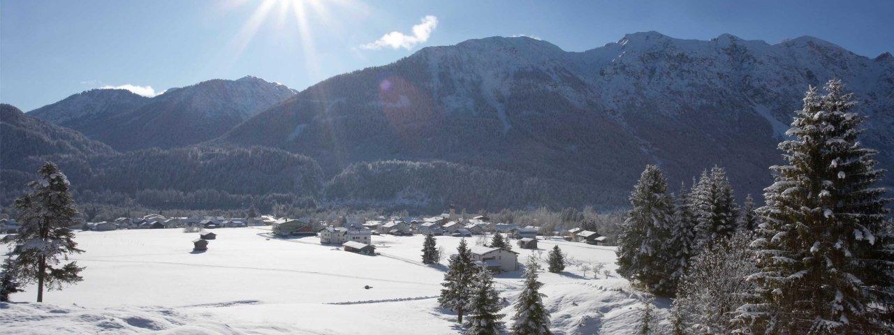 Weißenbach am Lech im Winter, © Naturparkregion Reutte