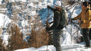 Schneeschuhwanderung zur Schlickeralm, © Stubai Tirol
