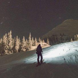 Nachtskitouren auf der Piste