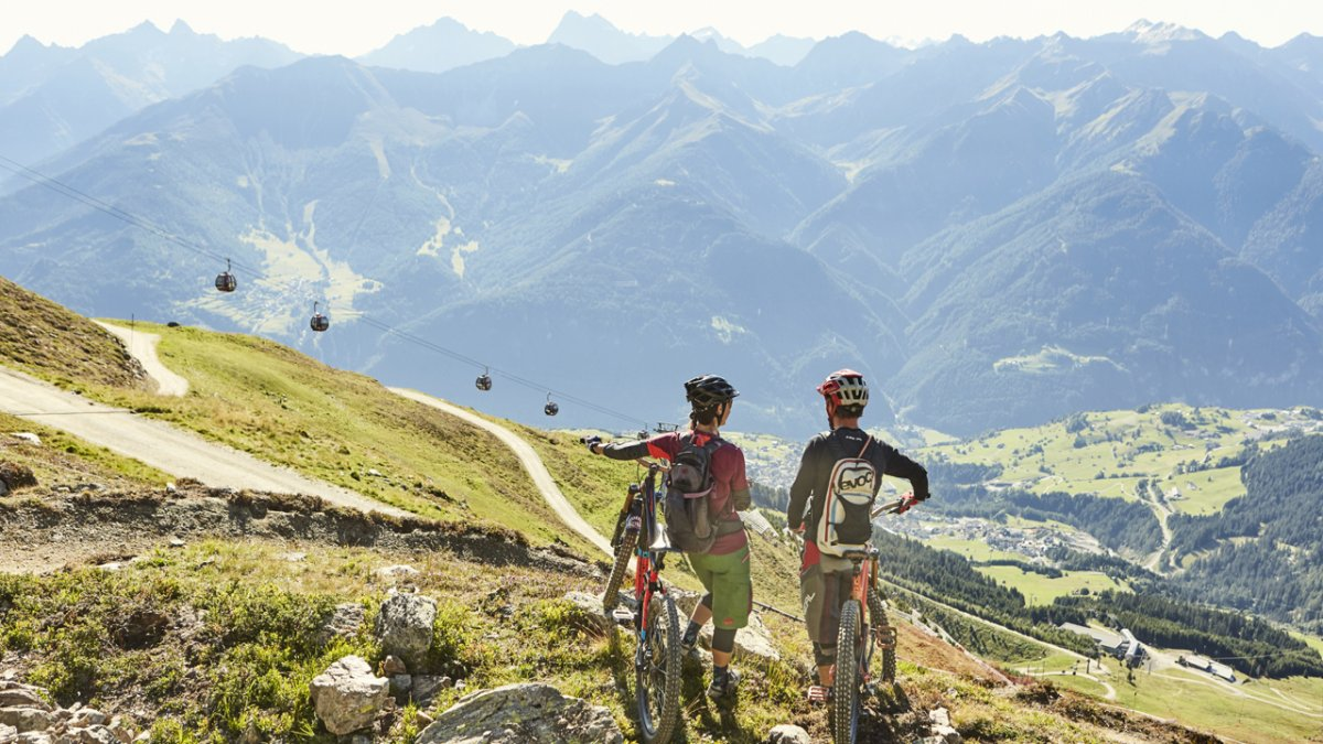 Mountainbiken in Serfaus-Fiss-Ladis, © christianwaldegger.com