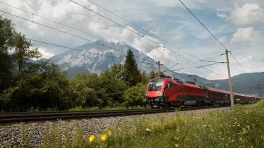 Anreise nach Tirol mit dem Railjet