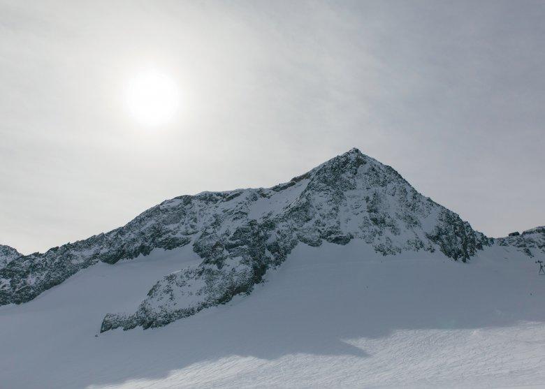 Auf dem Stubaier Gletscher.