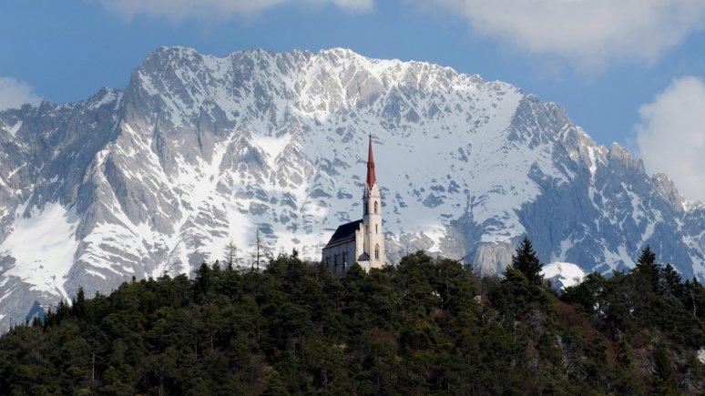 Wallfahrtskirche Locherboden, © Tirol Werbung - Bernhard Aichner