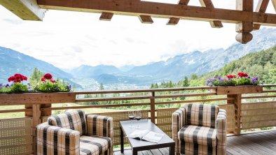 Lichtblick Suite Balkon mit Ausblick Inntalerhof