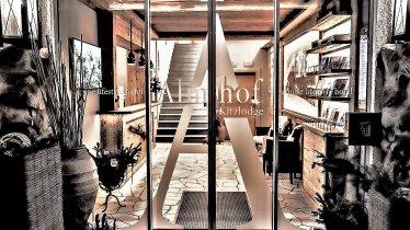 Almhof Kitzlodge Hoteleingang, © Marcel Sore
