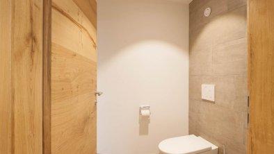 Das seperate WC der Hof-Suite