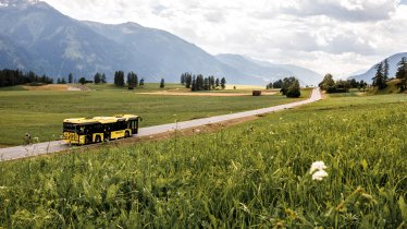 Das Liniennetz der VVT-Busse reicht in nahezu alle Tiroler Täler. , © Tirol Werbung / Hans Herbig