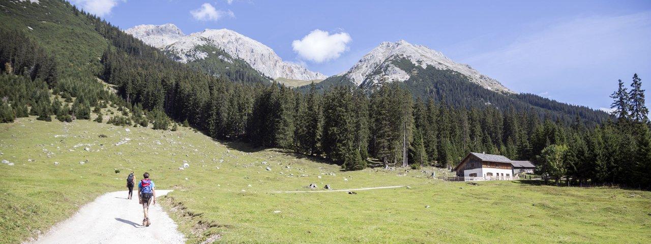 Wandern in der Olympiaregion Seefeld: Gaistal, © Tirol Werbung / Gigler Dominik