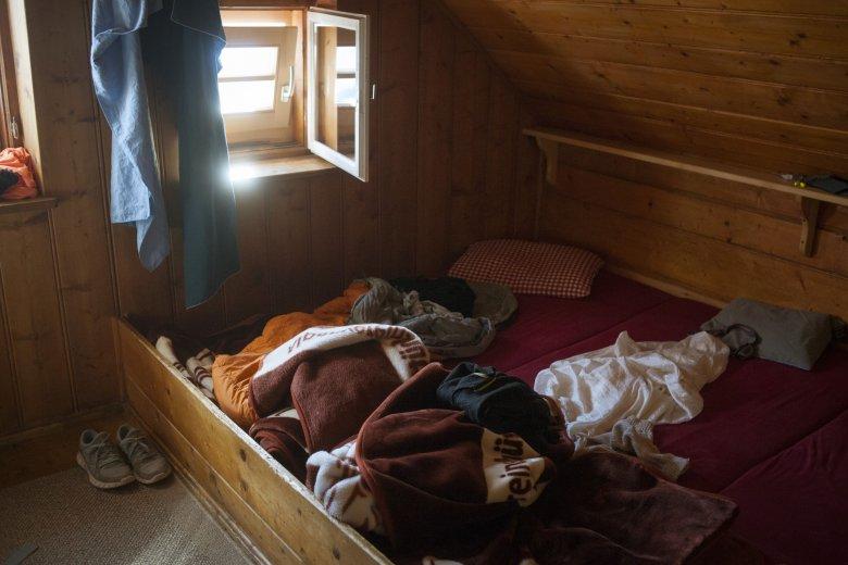 Tirol bietet viele Schlafplätze für Wanderer, wie zum Beispiel im Ötztal auf der Erlanger Hütte.
