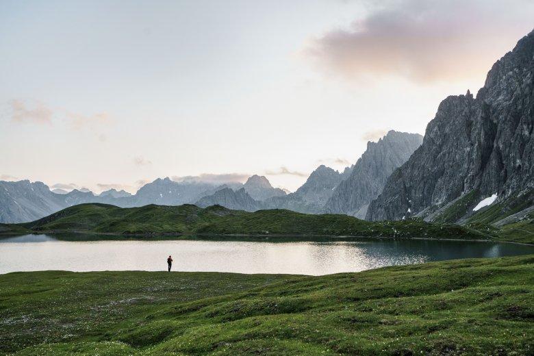 Steinsee, Lechtal, Lechtaler Höhnweg, © Tirol Werbung, Schels Sebastian