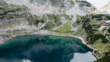 Der Drachensee am Fuße der Coburger Hütte., © Tirol Werbung / Hans Herbig