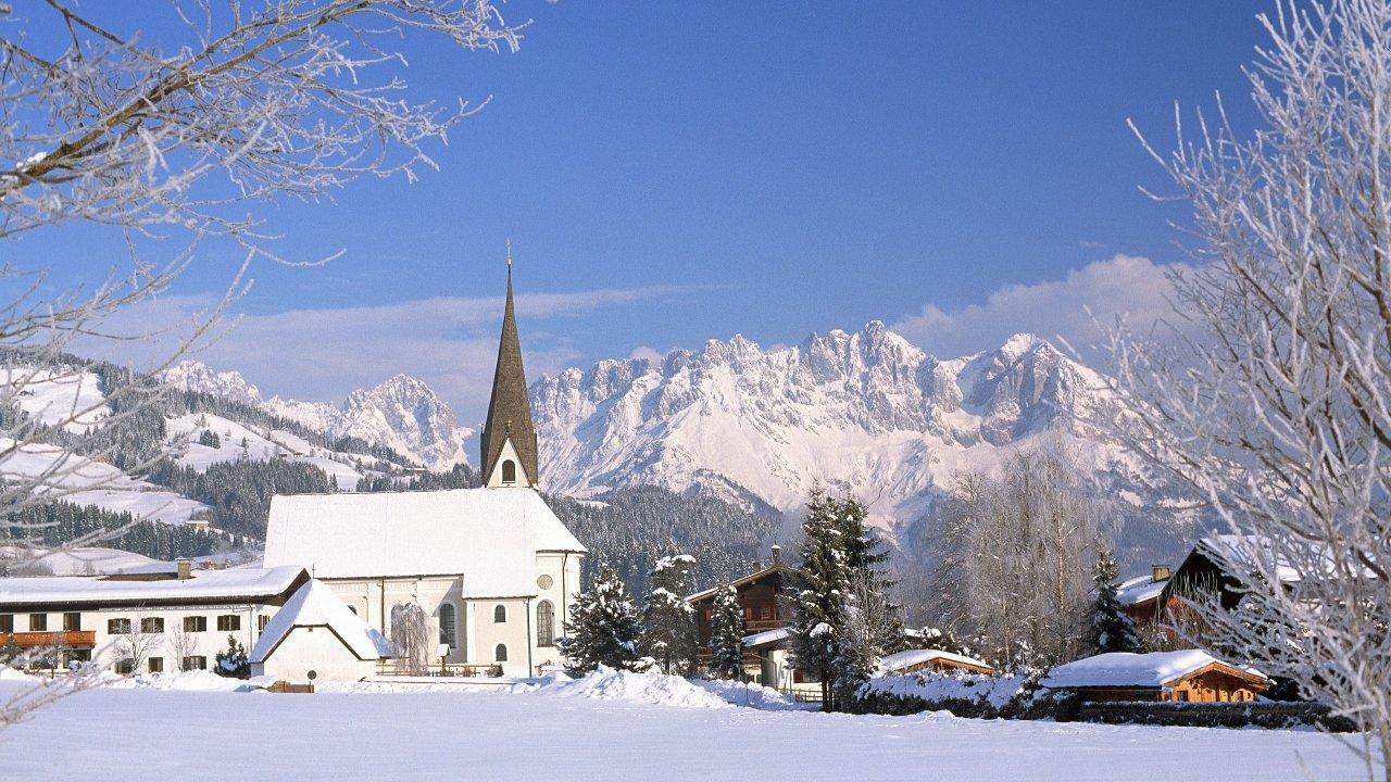 Reith bei Kitzbühel im Winter, © Albin Niederstrasser