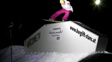 HOTZONE.TV Snowpark Stans, © TVB Silberregion Karwendel