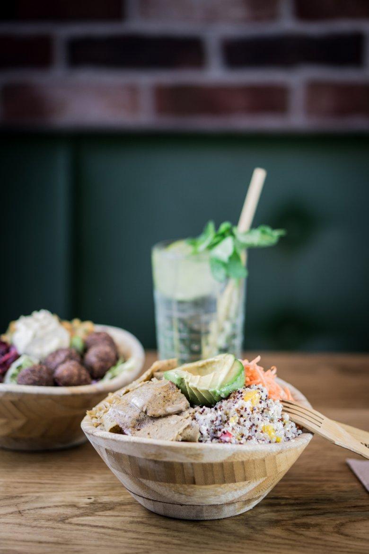 Beim D-Werk gibt es eine große Auswahl an veganen Gerichten, wie zum Beispiel die vielen Bowls. Foto: D-Werk