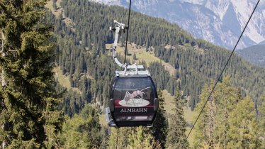 Almbahn in Fiss, © Bergbahn Fiss