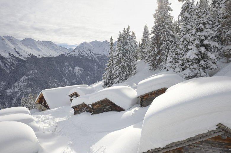 Aus Schnee lassen sich Häuser – na gut, Iglus – bauen.