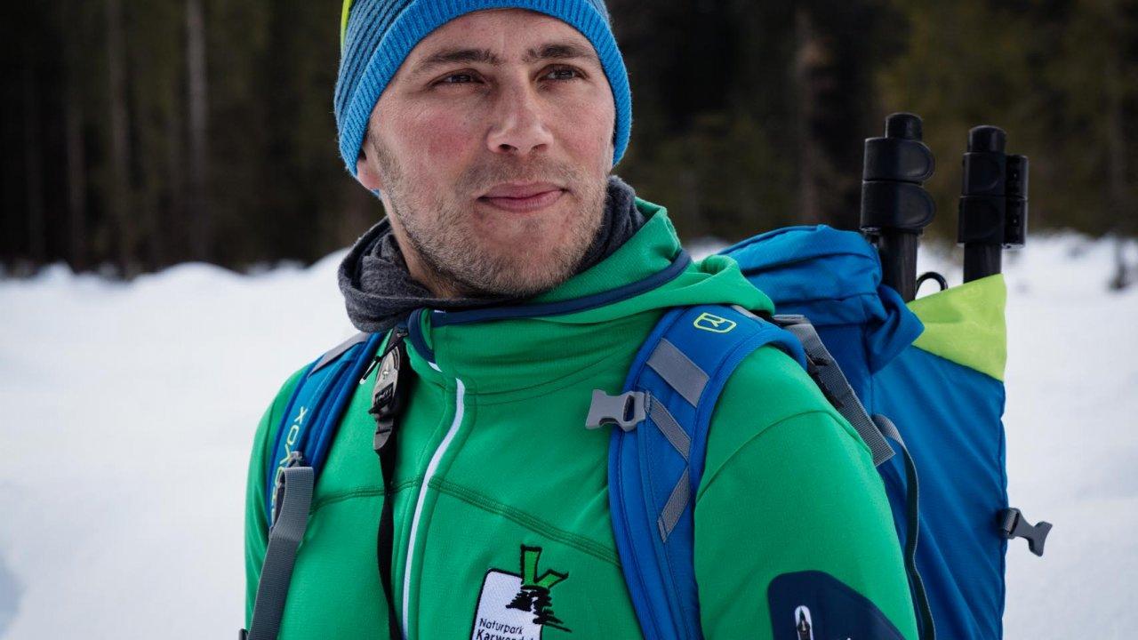 Naturpark-Ranger Sebastian Pilloni, © Tirol Werbung/Lisa Hörterer